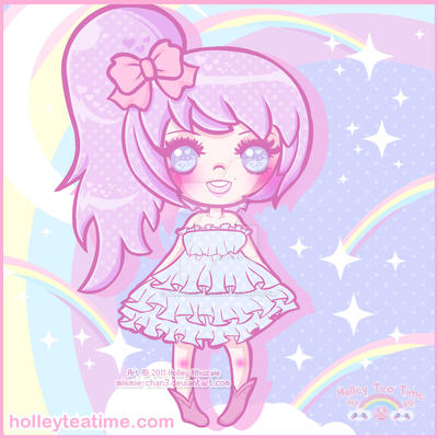 Fairy Kei Suzuka for Anjuuki kawaii chibi by miemie-chan3