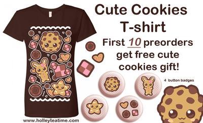 Cute cookies t-shirt Preorder