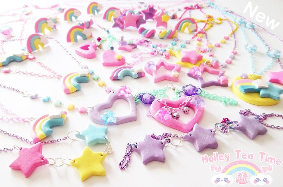 Kawaii Fairy Kei Polymer Clay Jewlery By Miemie Chan3 On