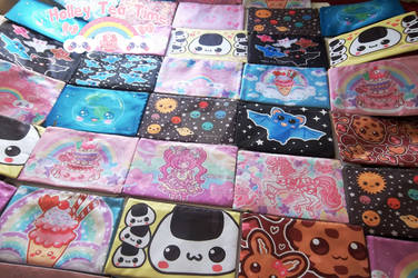 Super cute kawaii - large zipper bags by miemie-chan3