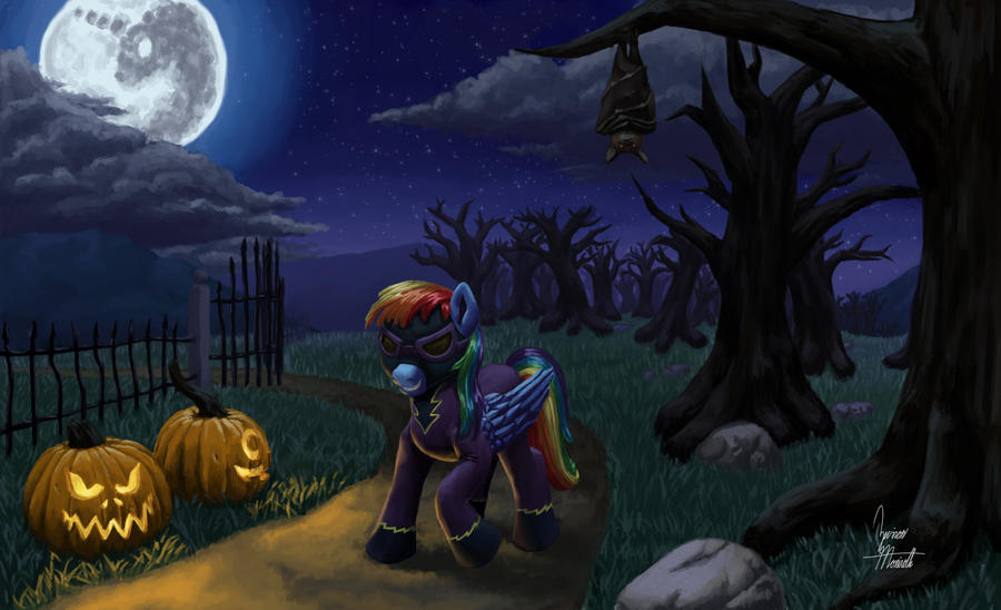 Nightmare Night by ZevironMoniroth
