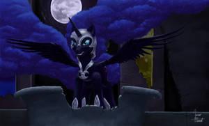 Nightmare Moon's Origin by ZevironMoniroth