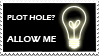 Plot Hole Stamp by GenesisArclite