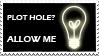 Plot Hole Stamp by GenesisArclite