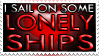 Stamp: Lonely Ships by GenesisArclite