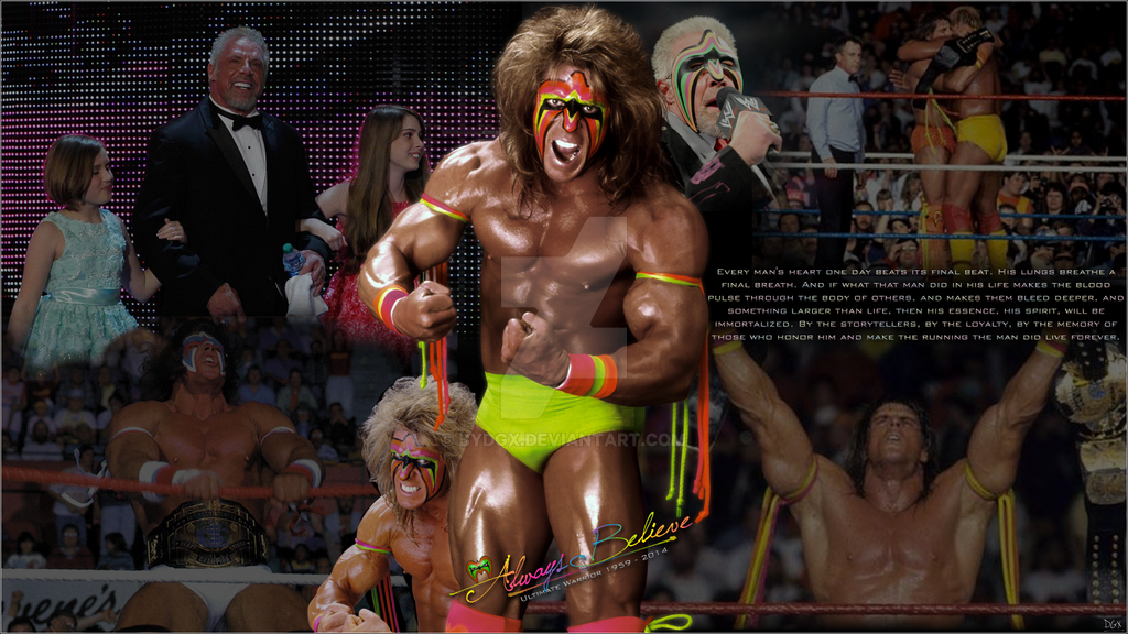 Ultimate Warrior Running To The Ring Wrestlemania