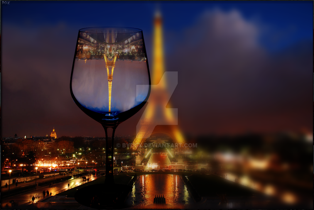 Glassed Tour Eiffel - Wallpaper by ByDGX on DeviantArt