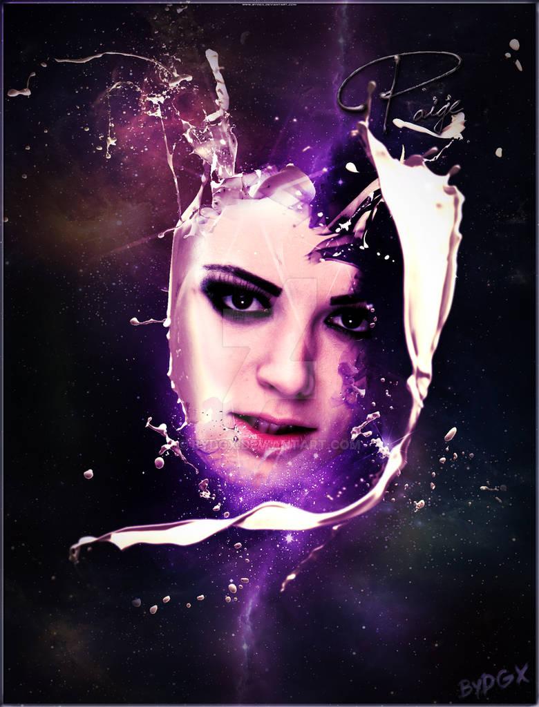 Paige - Futuristic Portrait