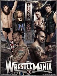 WrestleMania 3 (2016) - Poster