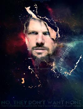 AJ Styles - Futuristic Portrait