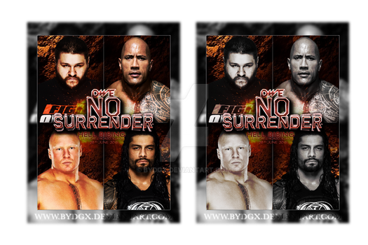 No Surrender (2016) - Poster