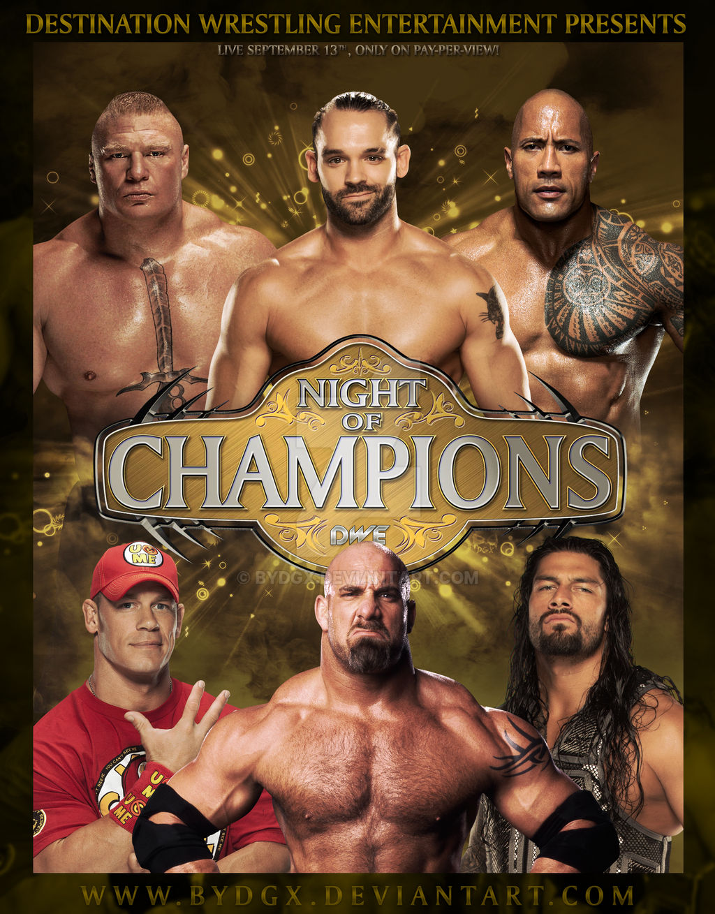 Night of Champions (2016) - Poster