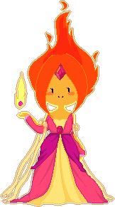 Flame Princess Pixel by natto-ngooyen