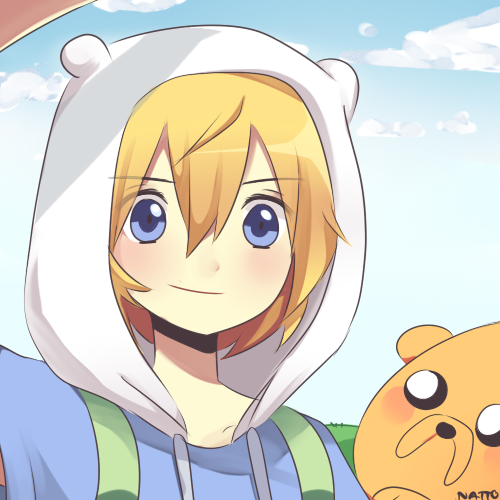 Finn and Jake by natto-ngooyen