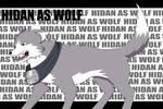 --+Hidan as wolf+--