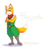 Fox McCloud by Marre-Chan95