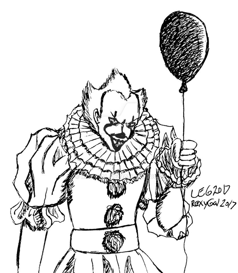 Animation Of Pennywise The Clown From Stephen Kings It ...