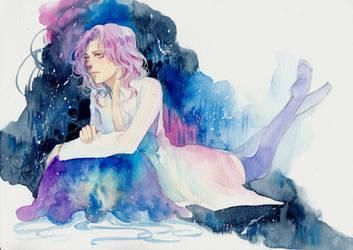 The jellyfish lady