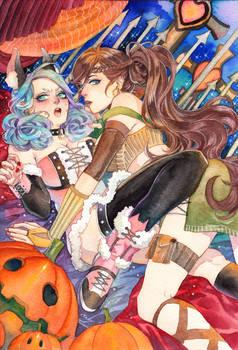 Spooky secret halloween
