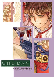 [ A Day] charity artbook preview