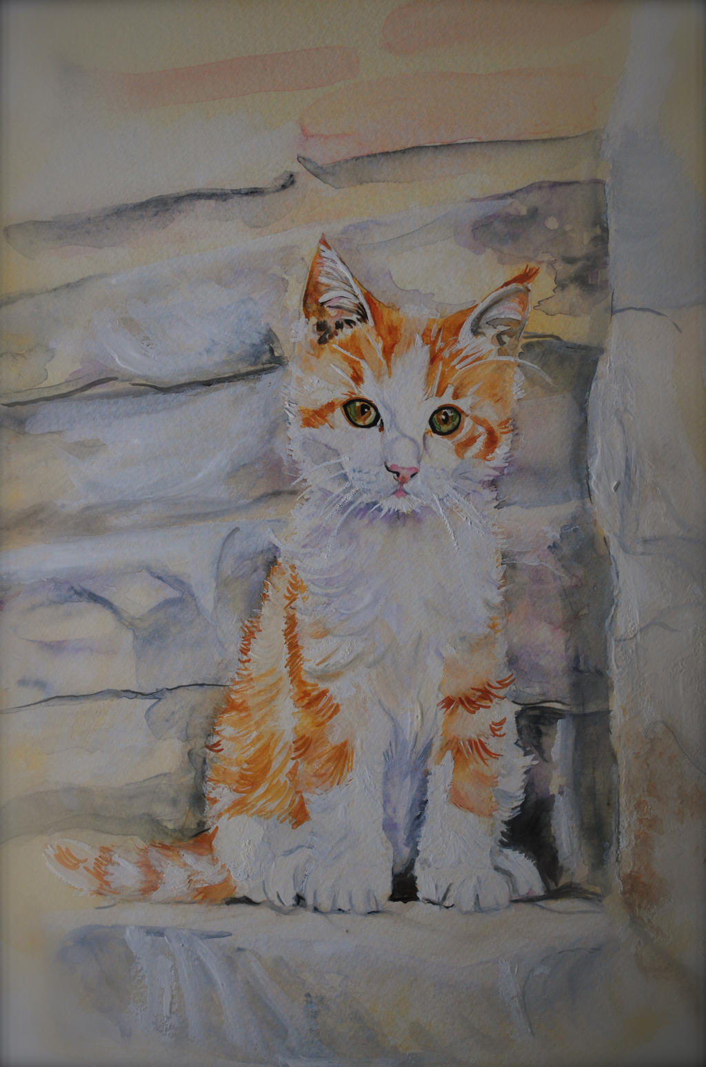 Chameleon Cat by ShanghaiSarah