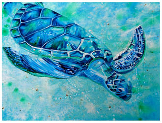 Sea Turtle by ShanghaiSarah