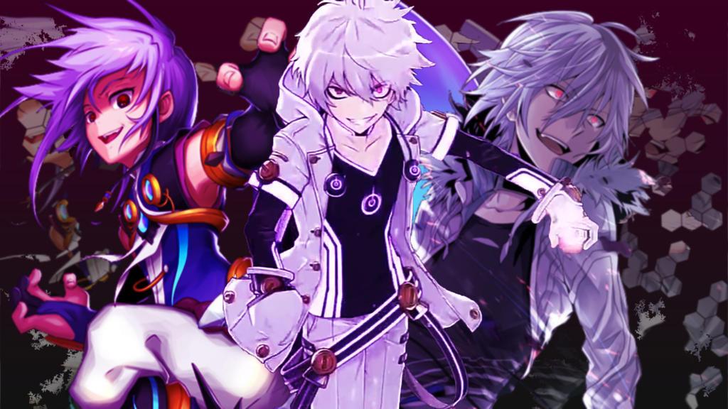 Destructive Trio Wallpaper By ChronoPinoyX
