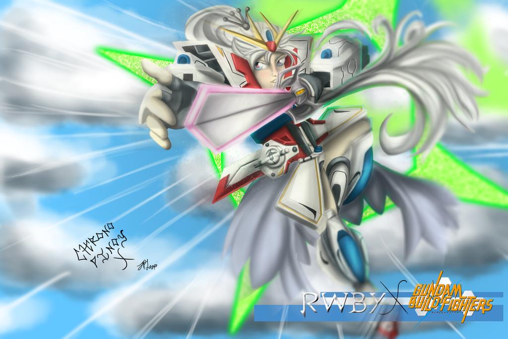 Glyph Discharge: RWBY x Gundam Build Fighters by ChronoPinoyX