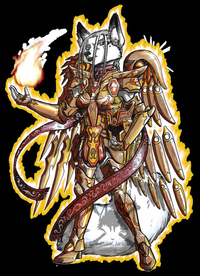 Armure divine by AmiralAesir