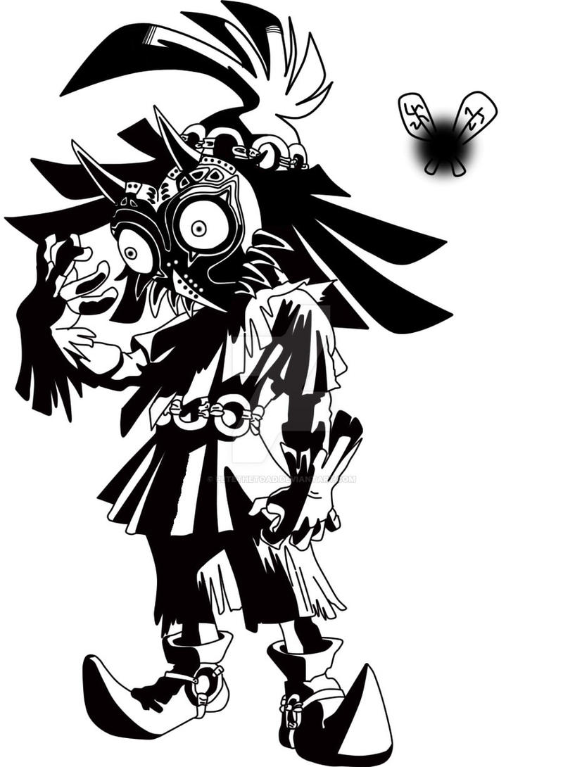 Skull Kid By Petethetoad On Deviantart