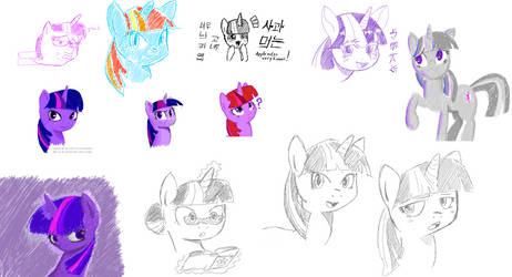 lotsa twilight i dont even by hipster-ponies