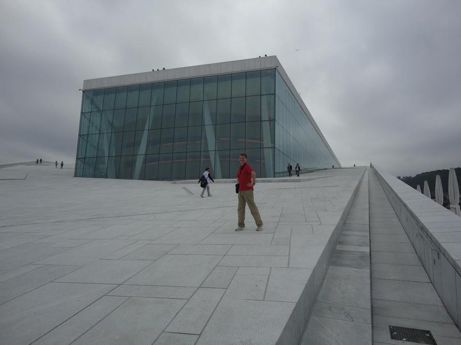 Oslo Opera House On th...