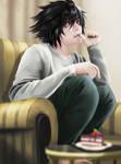 L(Death Note) by Karina-Sokolowa