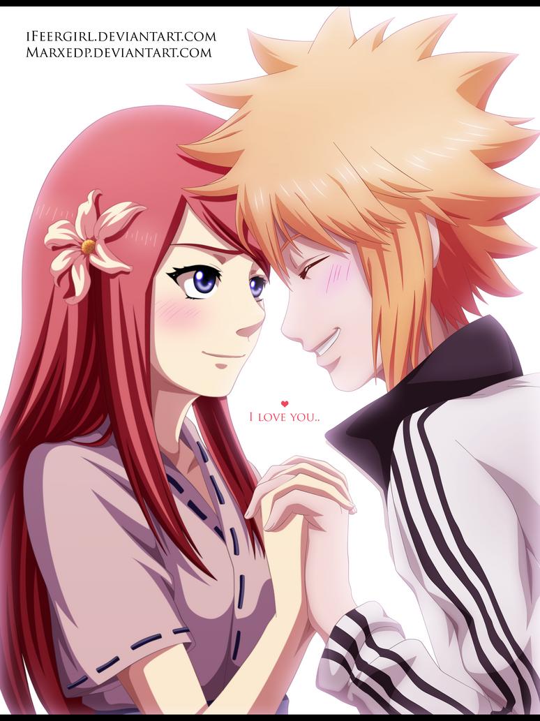 Minato y Kushina  - I love you! by iFeerGirl