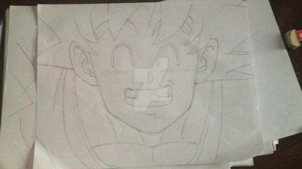 Dibujando tradicionalmente 2 (sketch terminado) by iFeerGirl