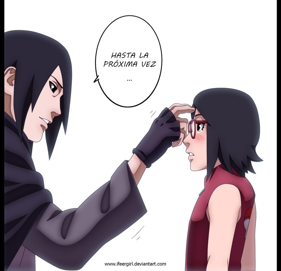 Hasta la proxima Sarada - Naruto Gaiden 10 by iFeerGirl