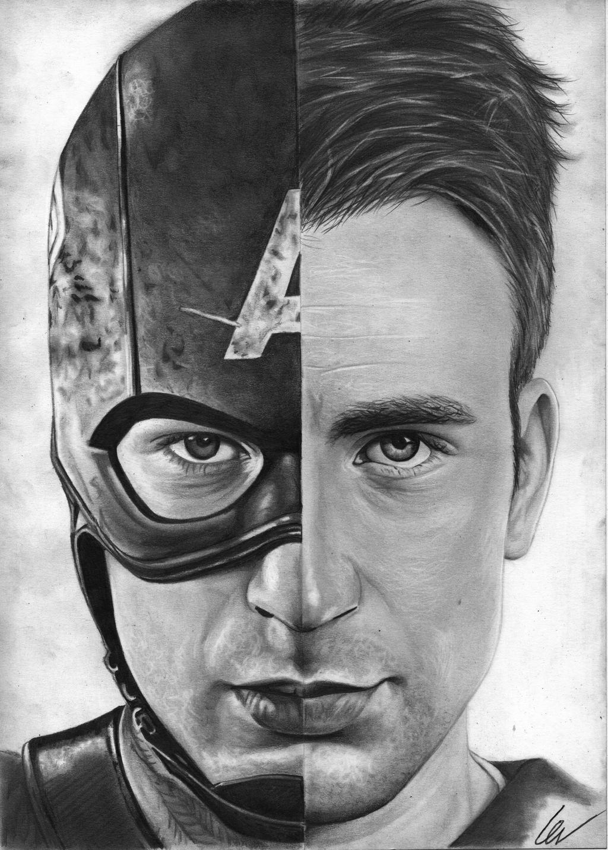 Chris Evans / Captain America By WeskerGray On DeviantArt