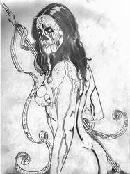 Elena Morgan sketch study-Final by thedemonbelial
