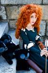 Kaitlyn as Merida from Disney's Brave