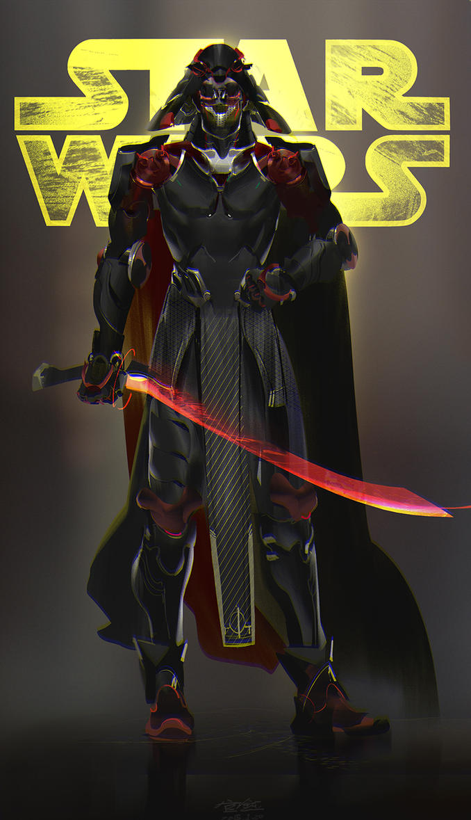 Darth Vader Re-designed by kyzylhum