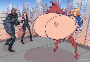 Endowed Super-Girl by MrSinister1990