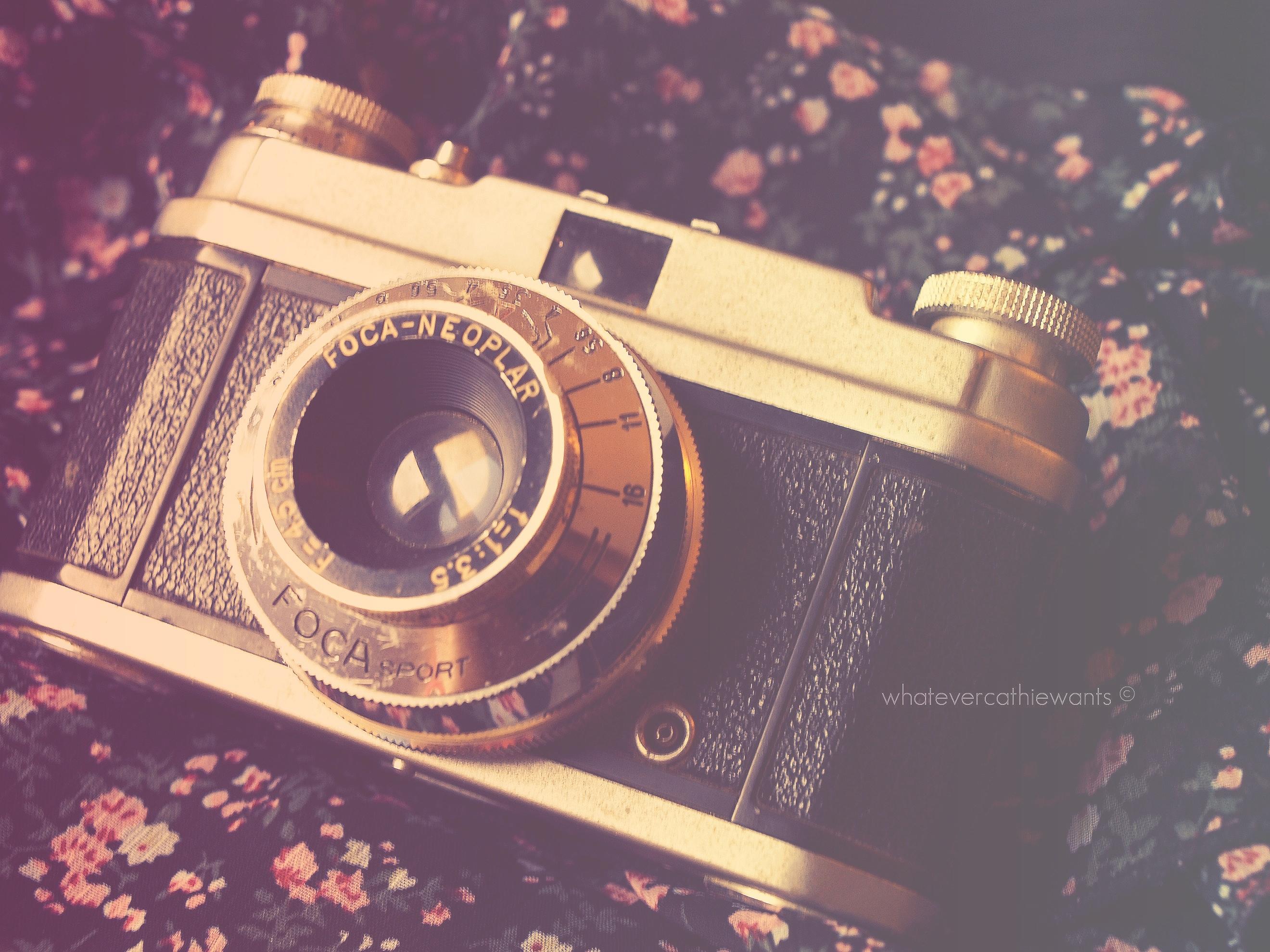 cute vintage camera wallpaper - photo #16