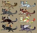 Cat adopts 4 (1 Left)