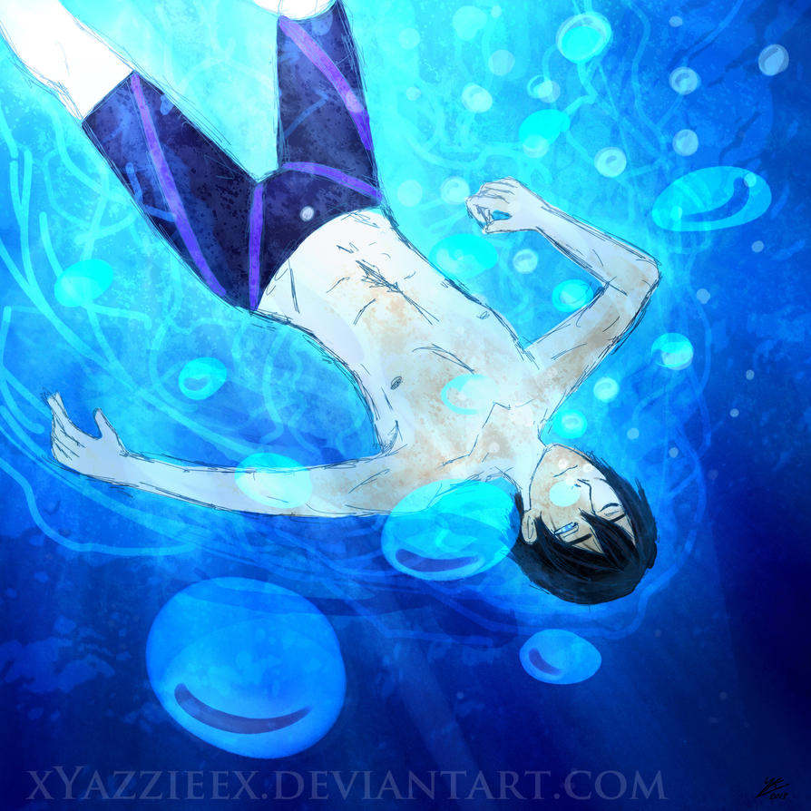 A Boy in the Water - Week 1 by xYazzieex