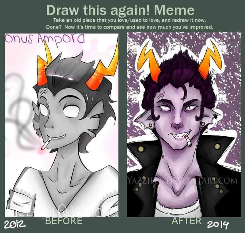 draw this again meme cronus ampora by xyazzieex on