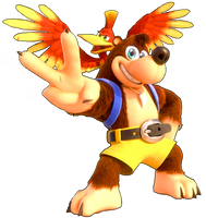 Banjo-Kazooie Render