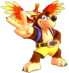 Banjo-Kazooie Render by VisteriaOfficial