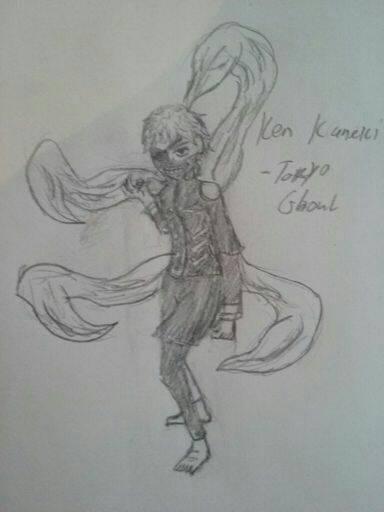 [Sketch Drawing] Kaneki by Dannyboy2013