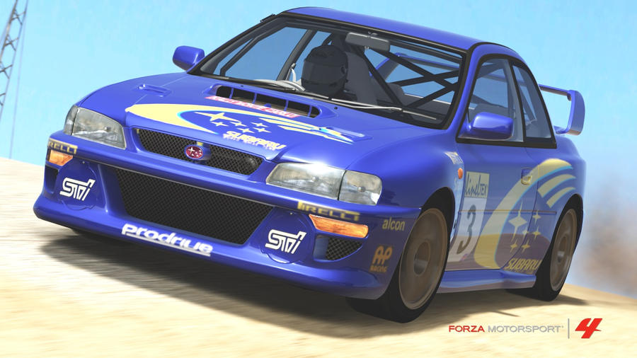 subaru impreza wrx 22b rally car by themilitarypolice on deviantart. Black Bedroom Furniture Sets. Home Design Ideas