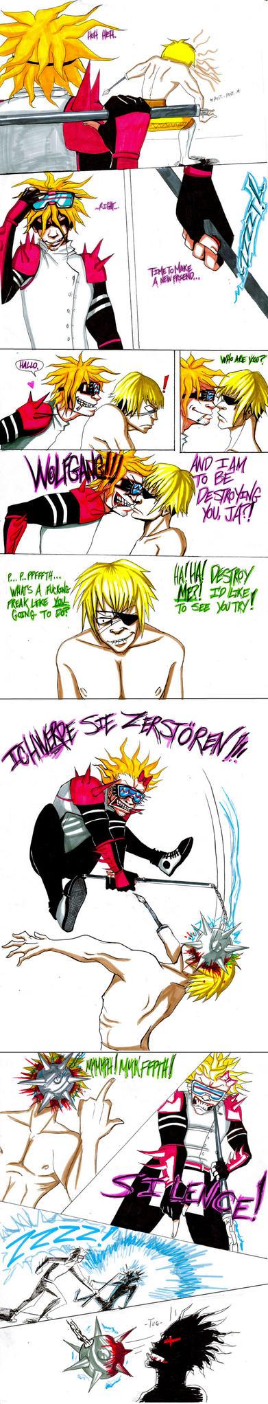 Wolfgang vs. The Matadorion by TadashiChizoko